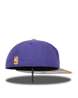 GORRA LAKERS MORADO