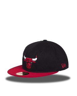 Chicago Bulls 59Fifty Negra
