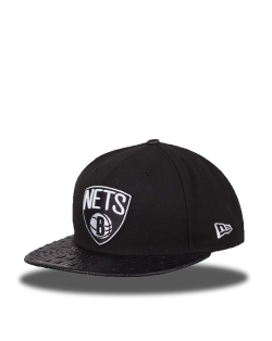 BROOKLYN NETS 59FIFTY NEGRA