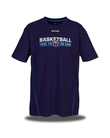 SPALDING TEAM T-SHIRT BLUE