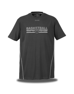 SPALDING TEAM T-SHIRT BLACK