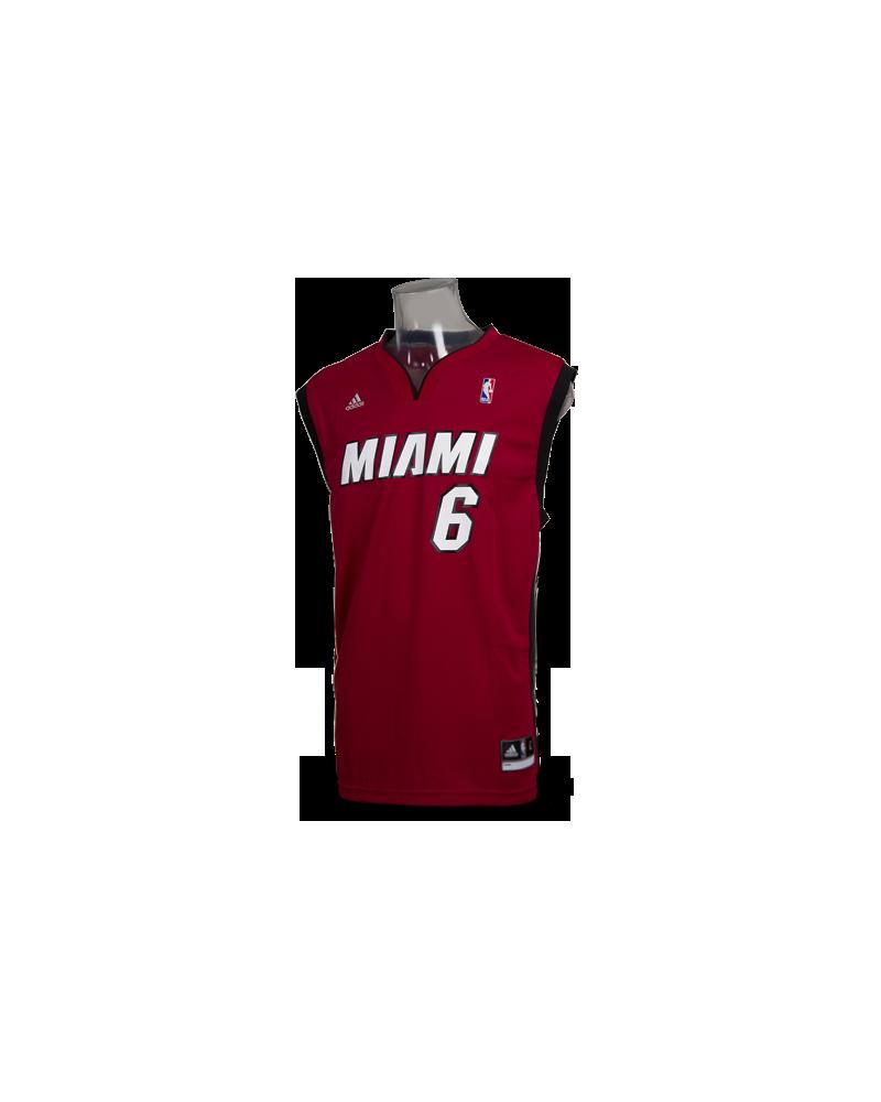 brand new 9dc5d 842f7 Replica oficial Adidas de Lebron James. Miami Heat