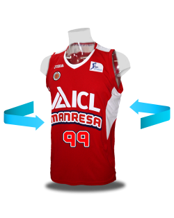 ICL Manresa home jersey
