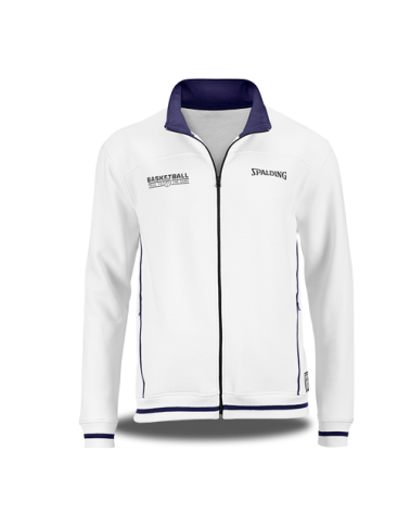 ZIPPER JACKET BLANCO