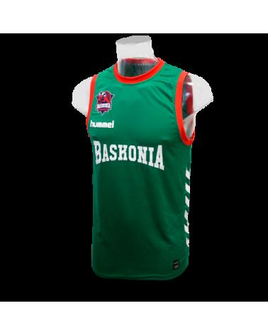 Camiseta Baskonia Verde 16/17