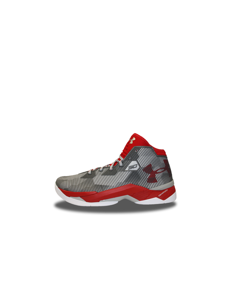 f9d1ca786ff8 Zapatillas Baloncesto Under Armour Curry Gris y Roja
