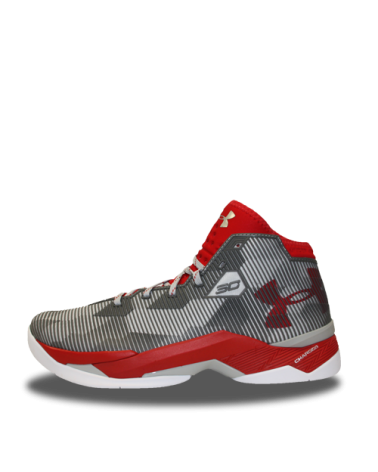 Under Armour Curry 2.5 Gris y Roja