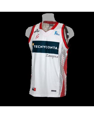Camiseta Tecnyconta Zaragoza 2ª 16/17