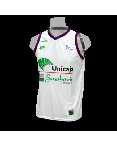 Camiseta Unicaja Málaga 2ª 16/17