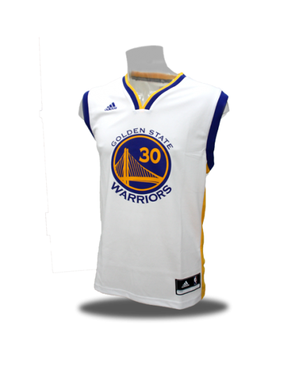 Replica Stephen Curry Blanca