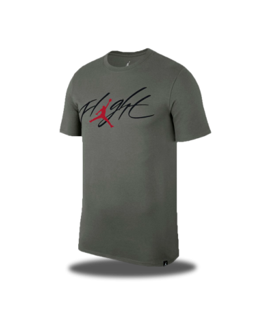 Camiseta Jordan Flight Gris
