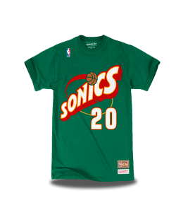 Seattle Supersonics Camiseta Payton