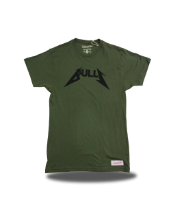 Camiseta Rock Chicago Bulls Verde