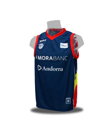 Camiseta Liga Endesa Andorra 1ª 17/18
