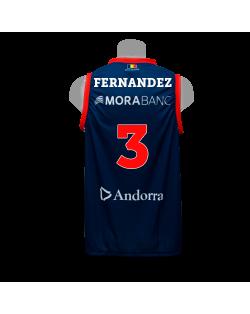 Camiseta Liga Endesa Andorra 1ª