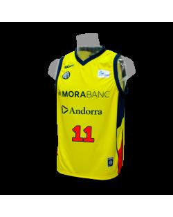 Camiseta Liga Endesa Andorra 2ª