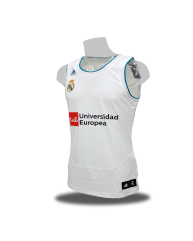 Camiseta Real Madrid baloncesto 1ª 17/18