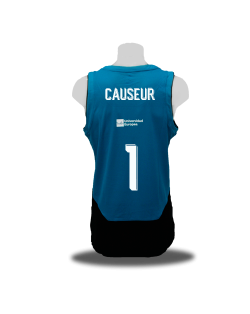 Camiseta Liga Endesa Real Madrid 2ª