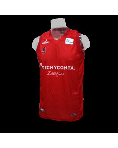 Camiseta Liga Endesa Tecnyconta Zaragoza 1ª 17/18