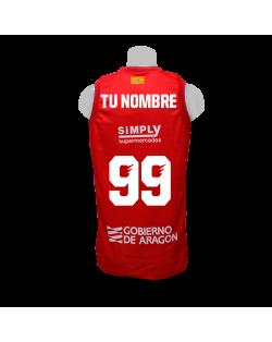 Camiseta Liga Endesa Tecnyconta Zaragoza 1ª