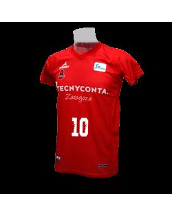 Camiseta Liga Endesa Tecnyconta Zaragoza Manga Corta