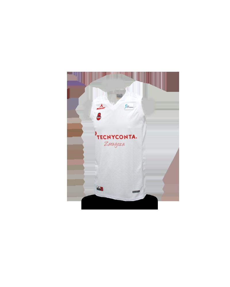 Camiseta Liga Endesa Tecnyconta Zaragoza 2ª