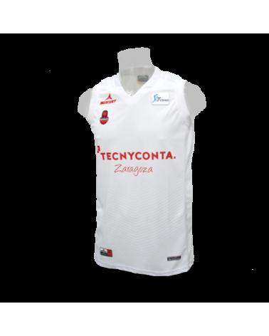 Camiseta Liga Endesa Tecnyconta Zaragoza 2ª 17/18
