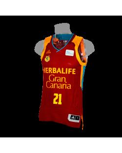 Camiseta Liga Endesa Herbalife Gran Canaria 2ª
