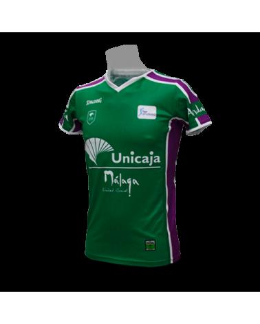 Camiseta Liga Endesa Unicaja de Málaga 1ª 17/18