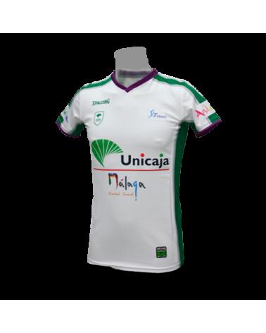 Camiseta Liga Endesa Unicaja de Málaga 2ª 17/18