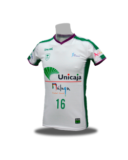 Camiseta Liga Endesa Unicaja de Málaga 2ª