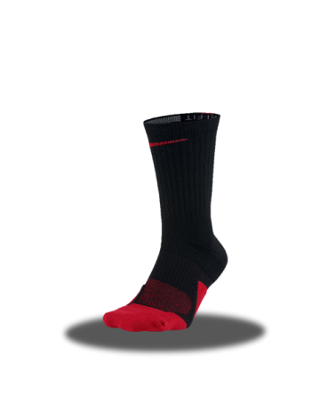 Calcetín Nike Elite Negro/Rojo