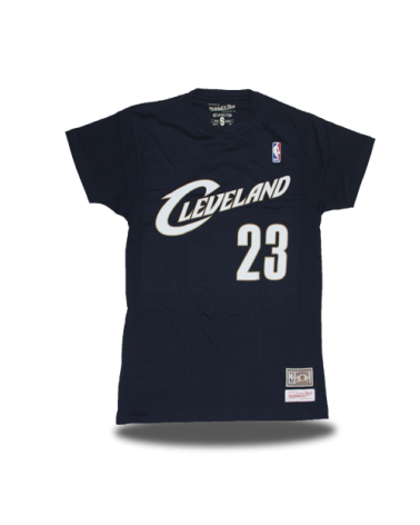 Cleveland Cavaliers Shirt Lebron Navy