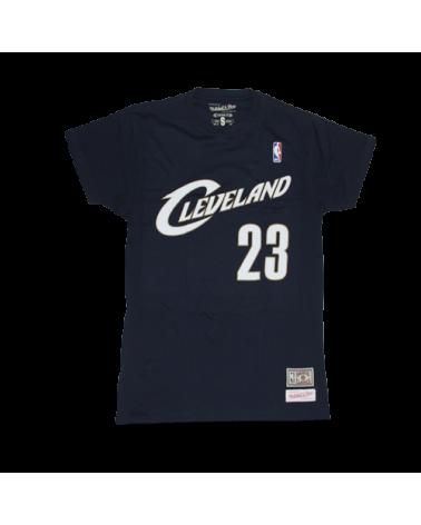 Cleveland Cavaliers Shirt Lebron Navy