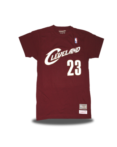 Cleveland Cavaliers Camiseta Lebron Granate