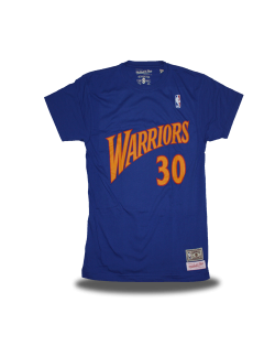 Golden State Warriors Camiseta Curry Azul