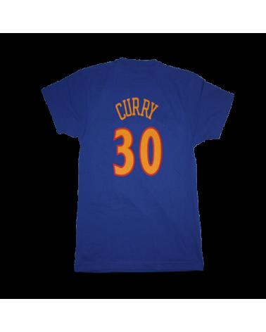 Golden State Warriors Camiseta Curry Azul