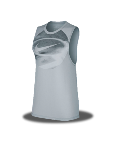 Women´s Grey Top Nike Dry