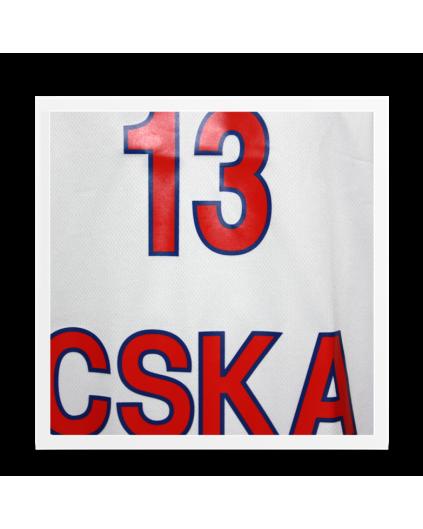 Camiseta Euroliga CSKA Sergio Rodríguez Blanca