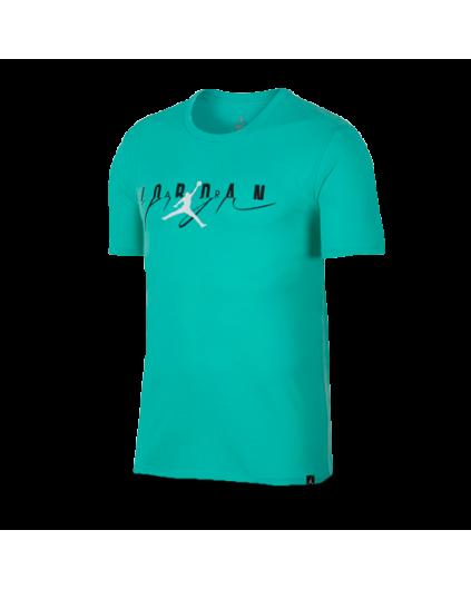 Camiseta Flight Mash-Up Jordan Esmeralda