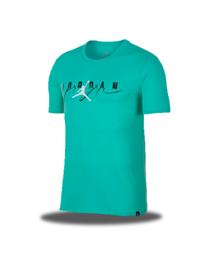 Flight Mash-Up Jordan Tee Emerald