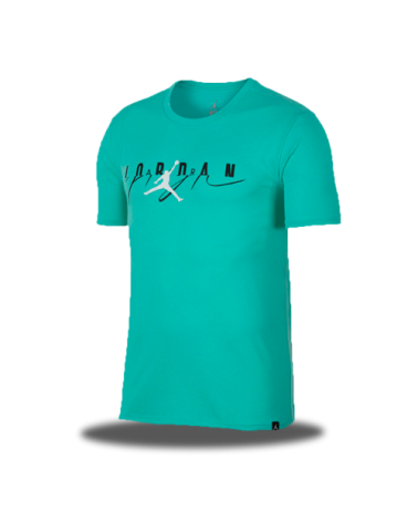 Flight Mash-Up Jordan Tee Emerald