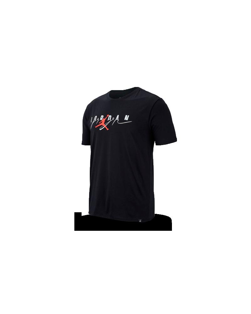 Camiseta Flight Mash-Up Jordan Negra