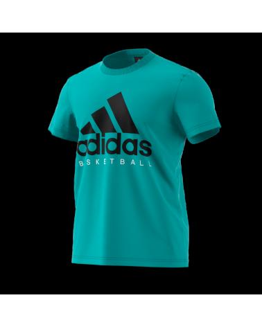 Camiseta Adidas Turquesa