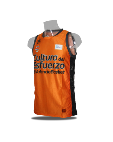 Camiseta Liga Endesa Valencia Basket 1ª 18/19