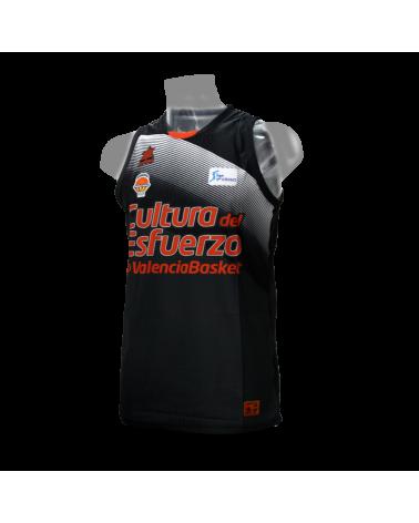Camiseta Liga Endesa Valencia Basket 2ª 18/19