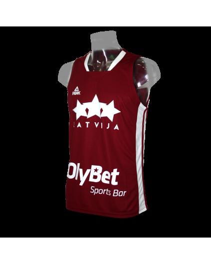 Latvia Home Jersey