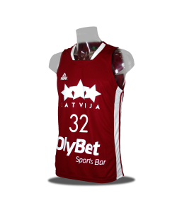 Latvia Home Jersey