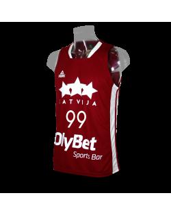 Camiseta FIBA Letonia 1ª