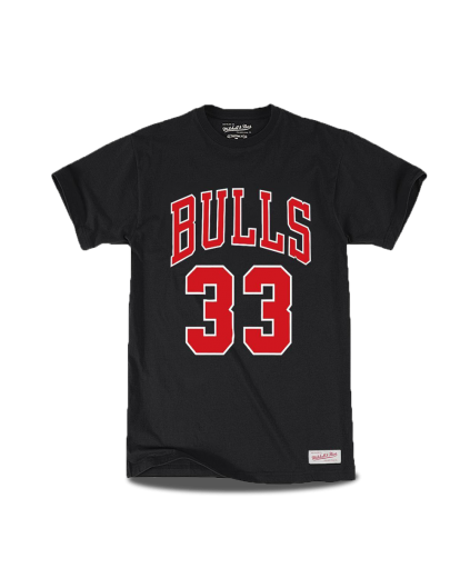 Chicago Bulls Scottie Pippen Negra
